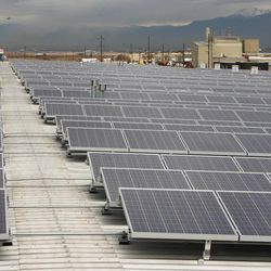 Burton Lumber recently finished installing 4.5 acres of solar panels, the largest local privately owned solar project in Utah, which falls within the governors 10-year Energy Plan.