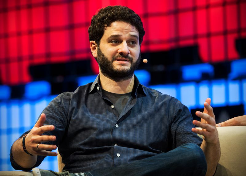 Dustin Moskovitz speaks on a panel