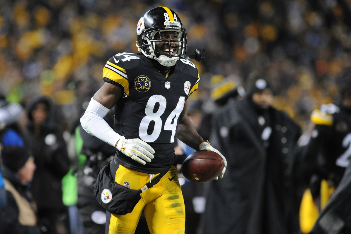 Antonio Brown Steelers >> Antonio Brown To Return From Injury In Time For Steelers