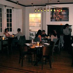 Vedge: Partly on this list because of it's past as Deux Cheminees, Vedge is a beautiful space with three very different dining areas, yet all are gorgeous in their own right. The front bar is very modern and bold, the high-table vegetable bar in the back