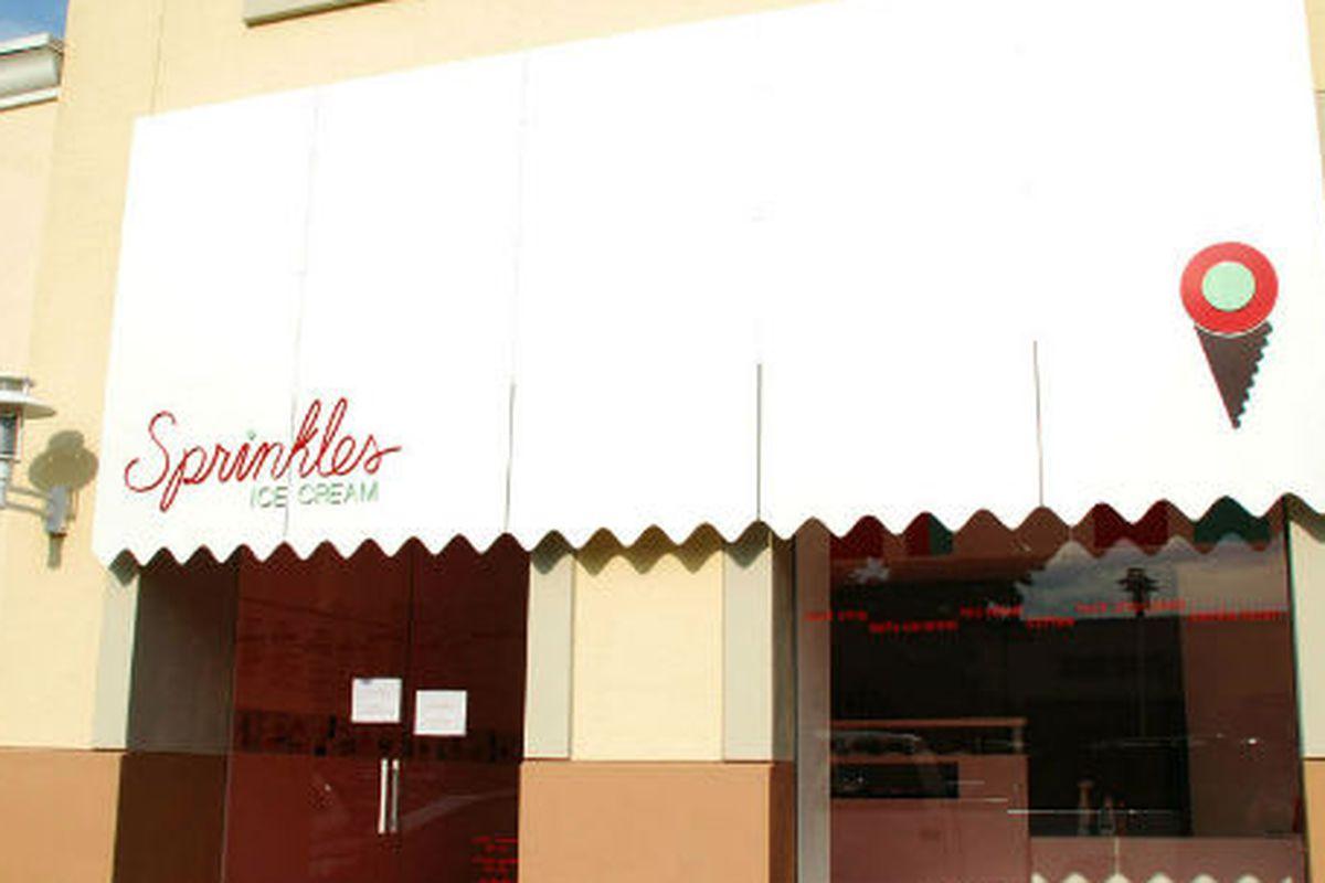 Sprinkles Ice Cream in Preston Center.
