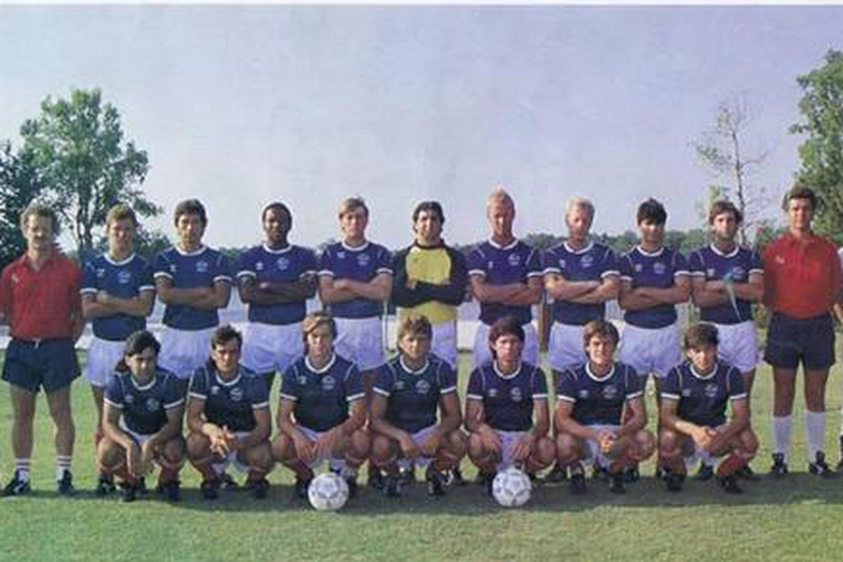 The 1986 Orlando Lions, the first to ever take on the dreaded Tampa Bay Rowdies.