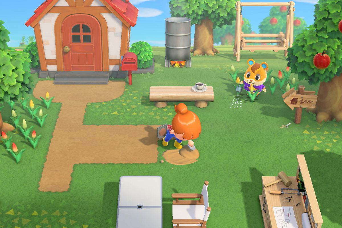 Animal Crossing: tangkapan layar New Horizons