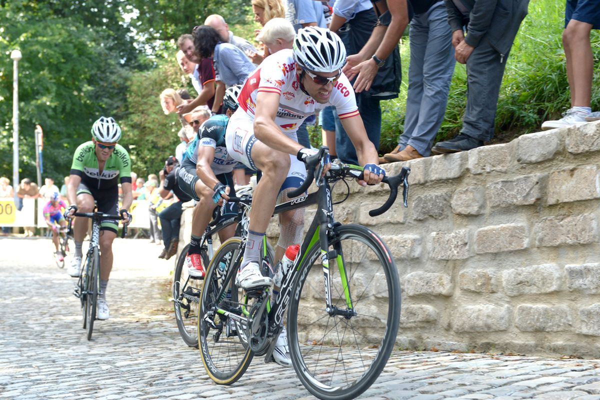 The 2013 Eneco Tour traversed the Muur on its queen stage.