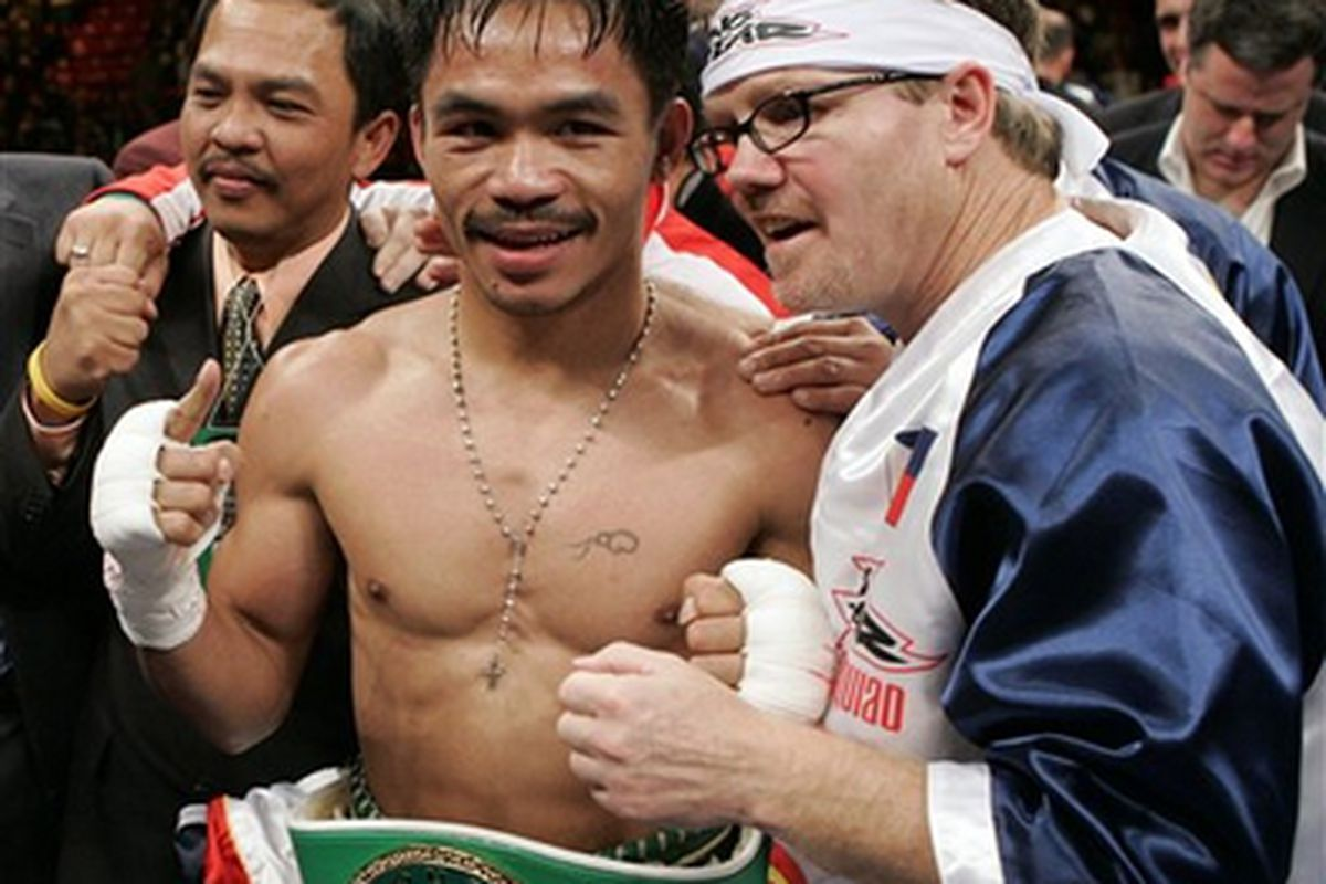 Trainer Freddie Roach has heard rumor that Floyd Mayweather Jr. doesn't look too great in training, and also predicts that Mayweather's September 19 fight with Juan Manuel Marquez will bomb on pay-per-view.