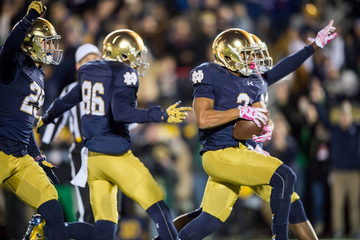 2016 College Football Rankings Notre Dame Is 10 In Associated