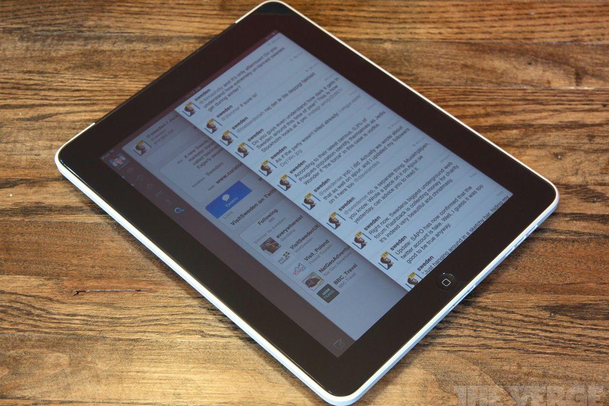 Sweden Twitter iPad