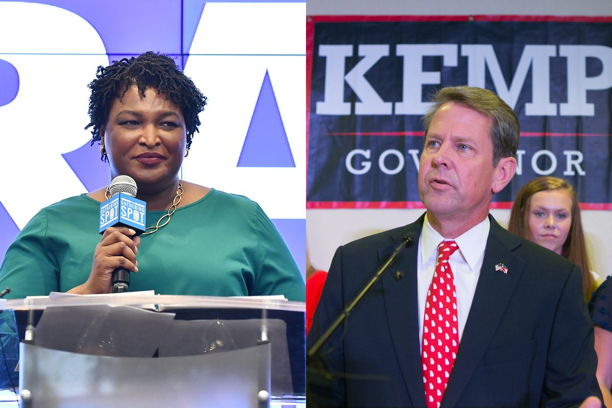 Georgia gubernatorial candidates Stacey Abrams and Brian Kemp's close  political contest is fueling concerns that voter suppression tactics are  being used to ...