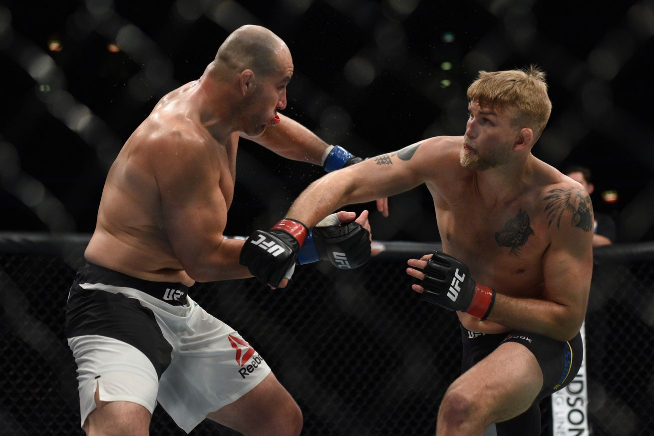 community news, Glover Teixeira saw 'three' Alexander Gustafssons after eye poke, but has no excuses