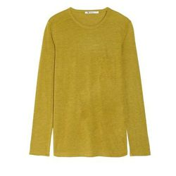 """<a href=""""http://www.theoutnet.com/product/384148"""">Classic jersey top</a>, $39.95 (was $85)"""