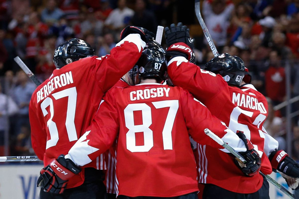 Hockey: World Cup of Hockey-Team Canada vs Team Czech Republic