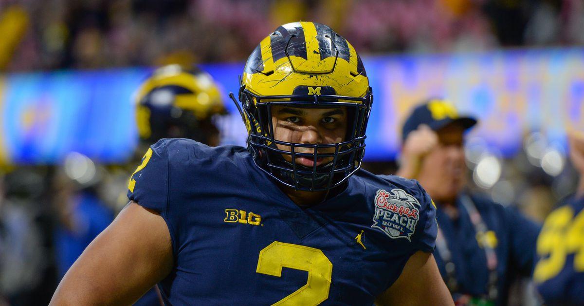 Michigan Football Captains 2019 - Maize n Brew