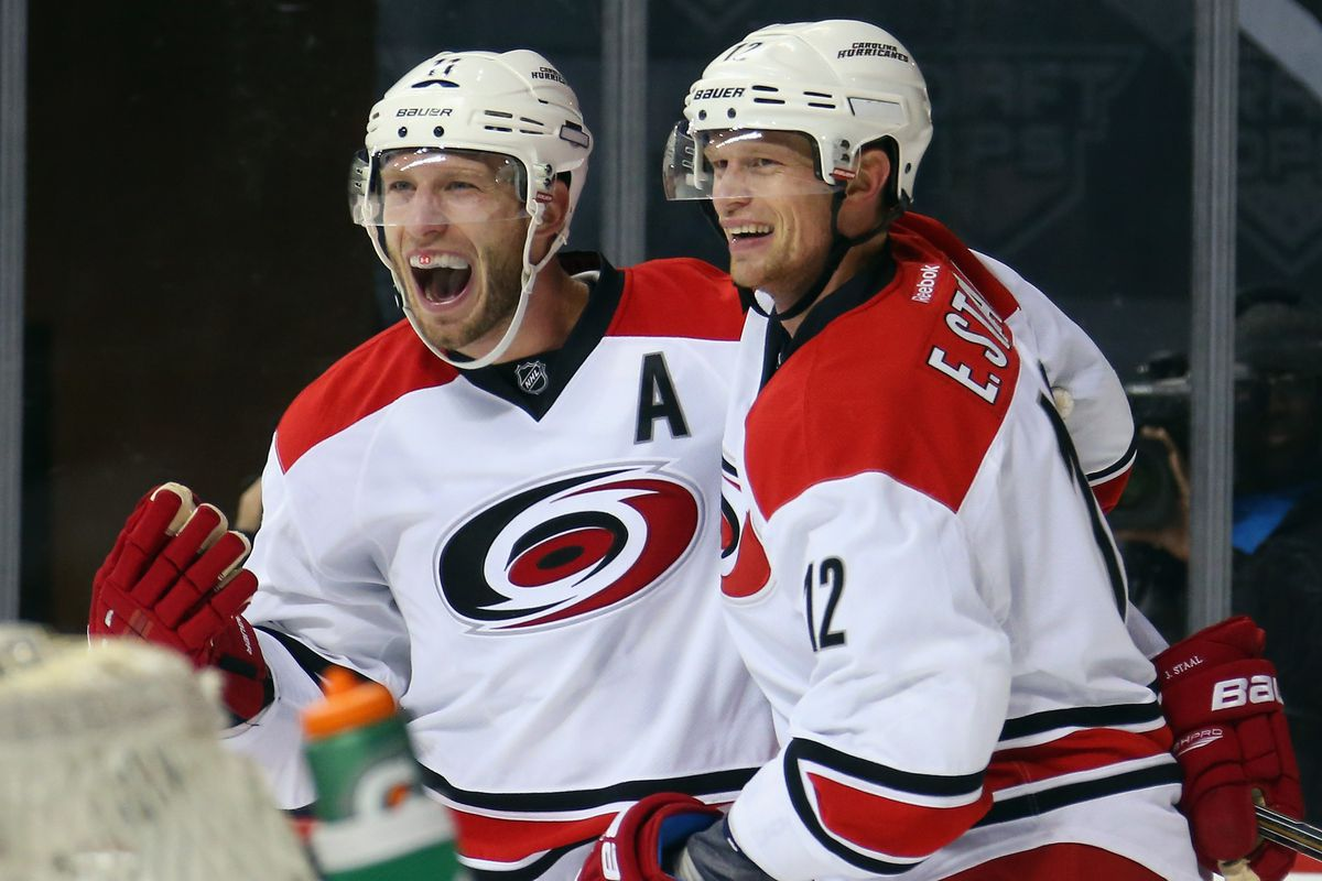 Will Jordan Staal's production drop if Eric is traded?
