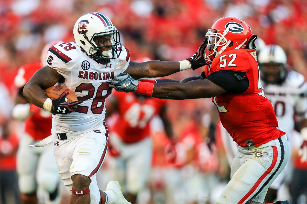 CBS picks up 2014 South Carolina-Georgia game - Garnet And ...