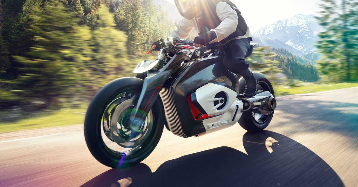 BMW's new electric motorcycle concept is a fresh vision of the future