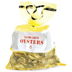 """Island Creek oysters, clams, and more. <a href=""""http://shop.islandcreekoysters.com/"""">Order here.</a>"""