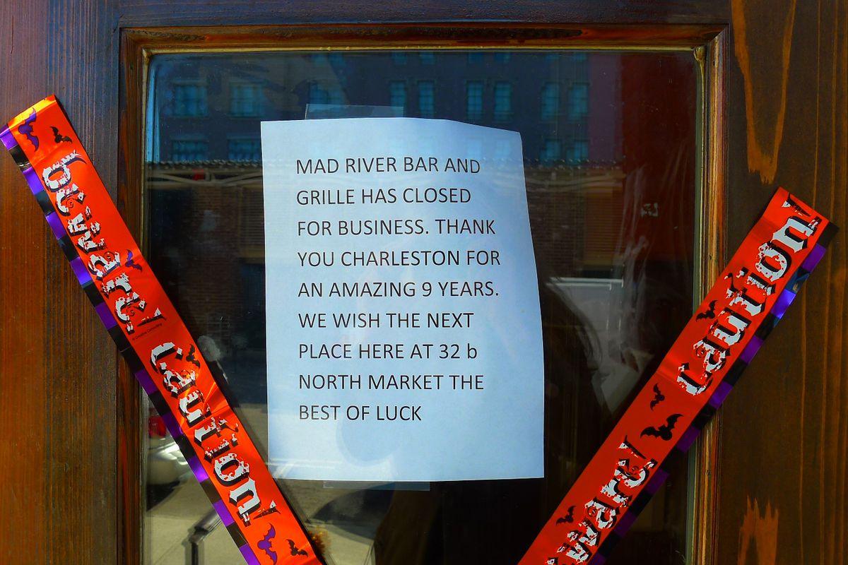Sign at Mad River