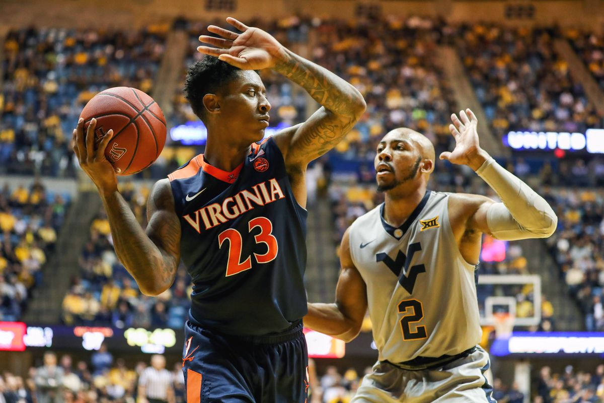NCAA Basketball: Virginia at West Virginia