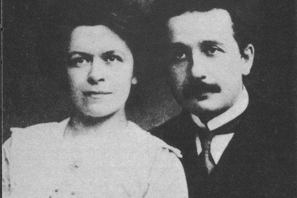 Einstein and Mileva (First Wife)