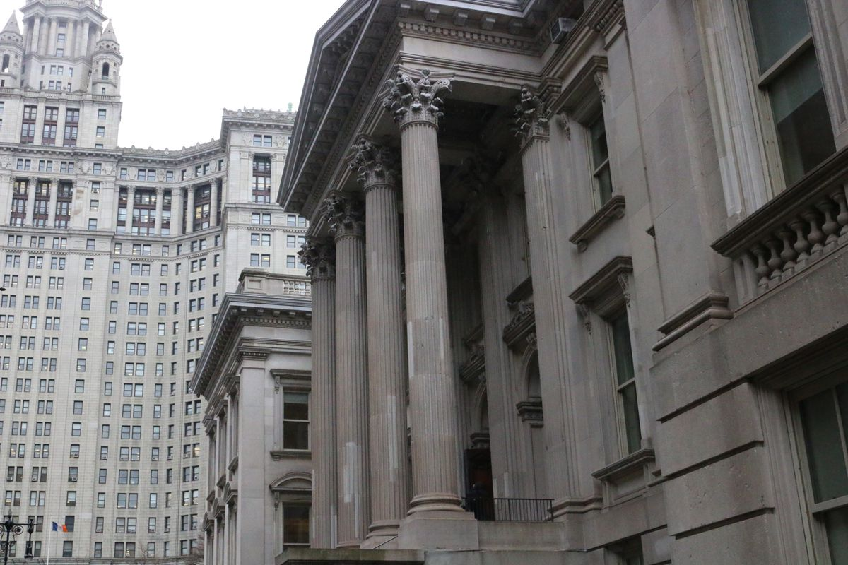 Cheryl Watson-Harris at top official at the New York City education department, is 'pursuing other opportunities,' according to a district spokesperson. Above, the central headquarters for the education department.