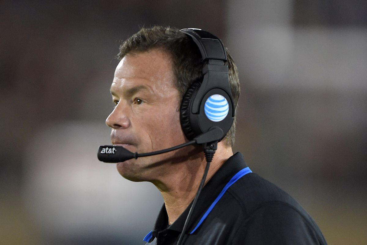 Jim Mora lost yet another game against Stanford.