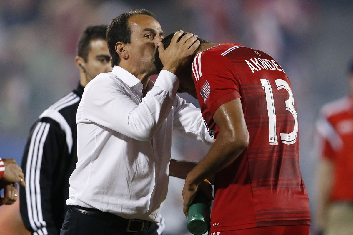 Kiss of death or for good luck? Pareja seems to like Canadians, but hopefully he has plenty of tissue for Saturday, one side will need them