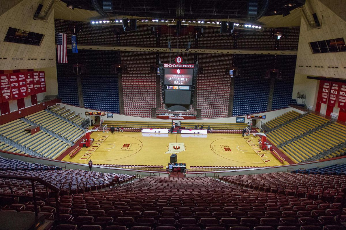 """Indiana AD Fred Glass declined NIT home game because he didn't want to """"devalue"""" Assembly Hall ..."""