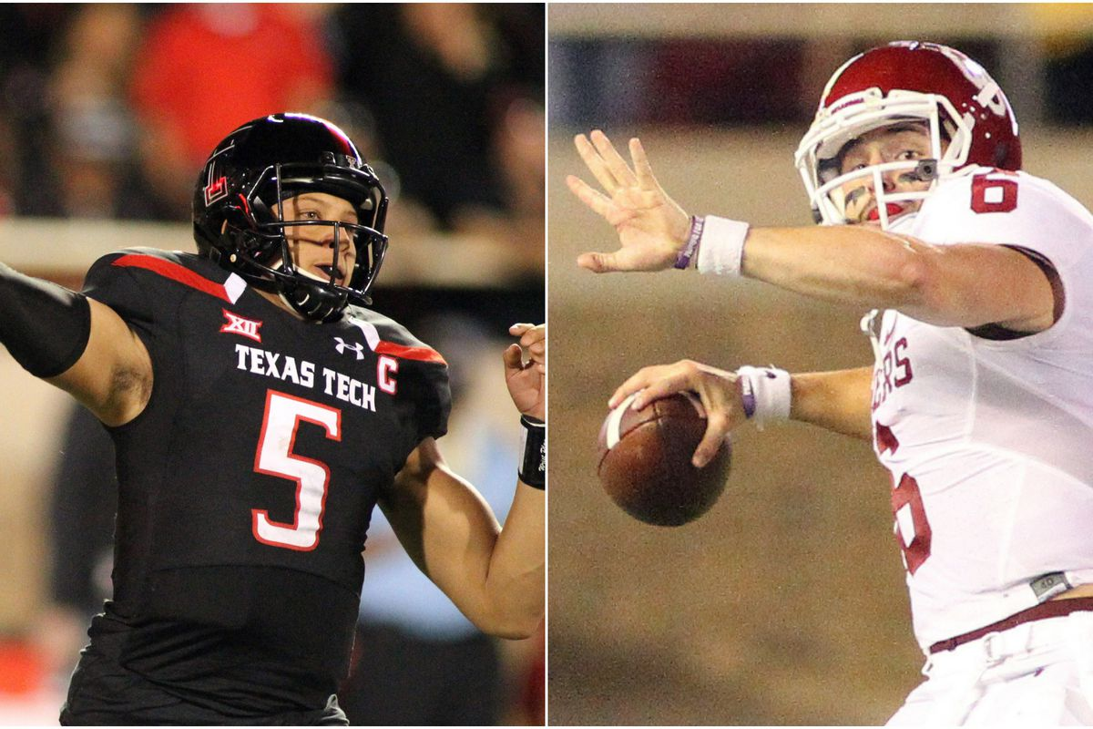 3971e11c The night Patrick Mahomes vs. Baker Mayfield rewrote college football's  record book