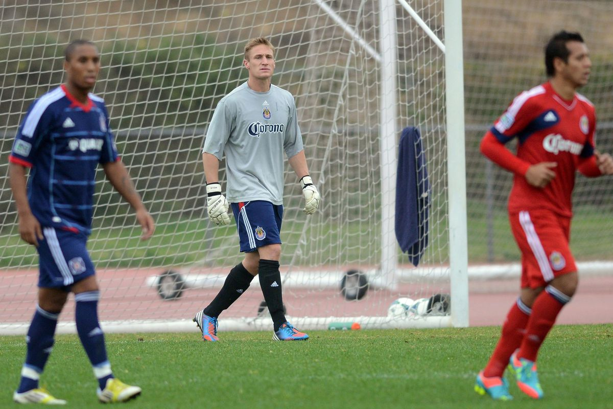 Melia: Helped lead Chivas to another win in the preseason.