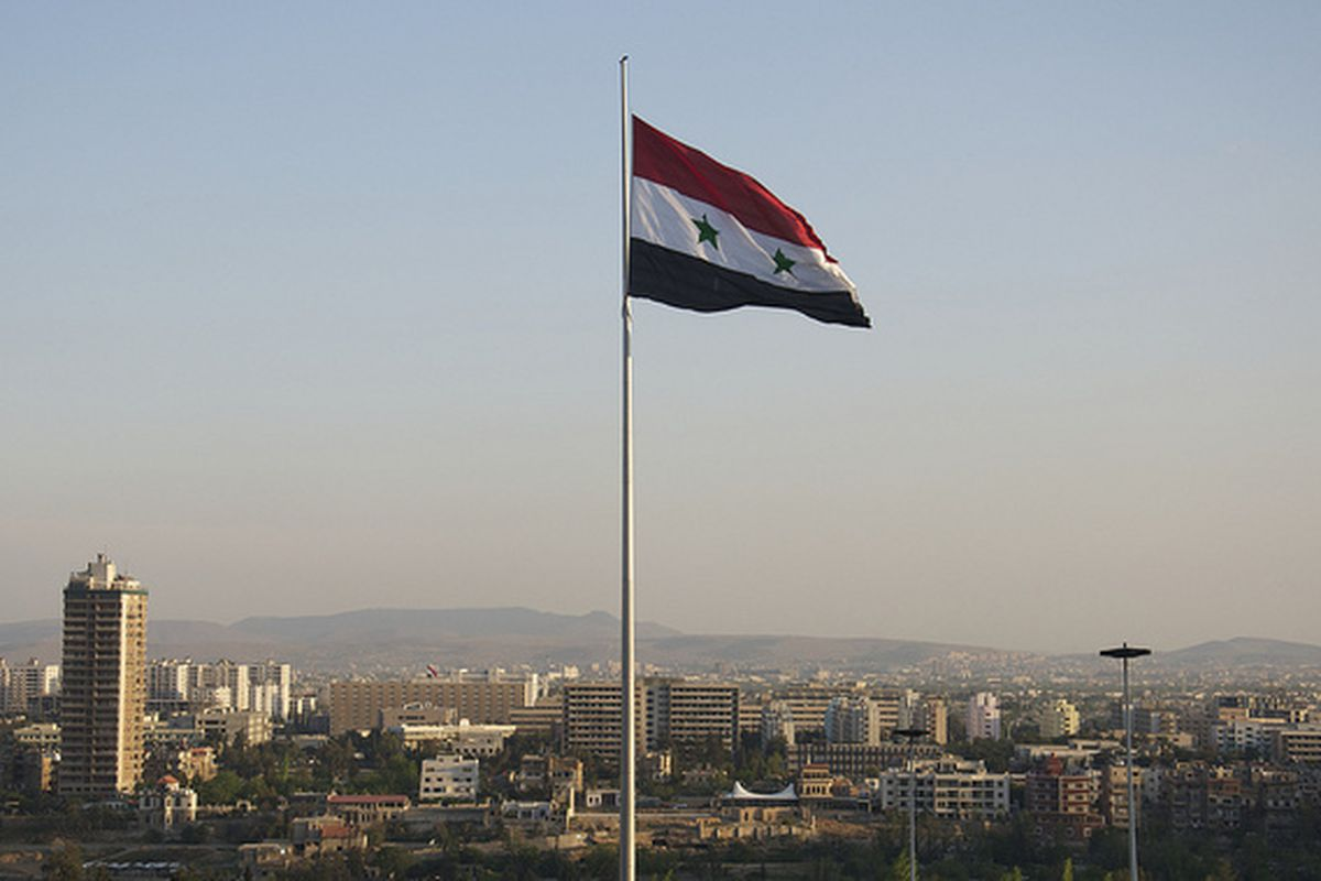 syria flag (flickr)