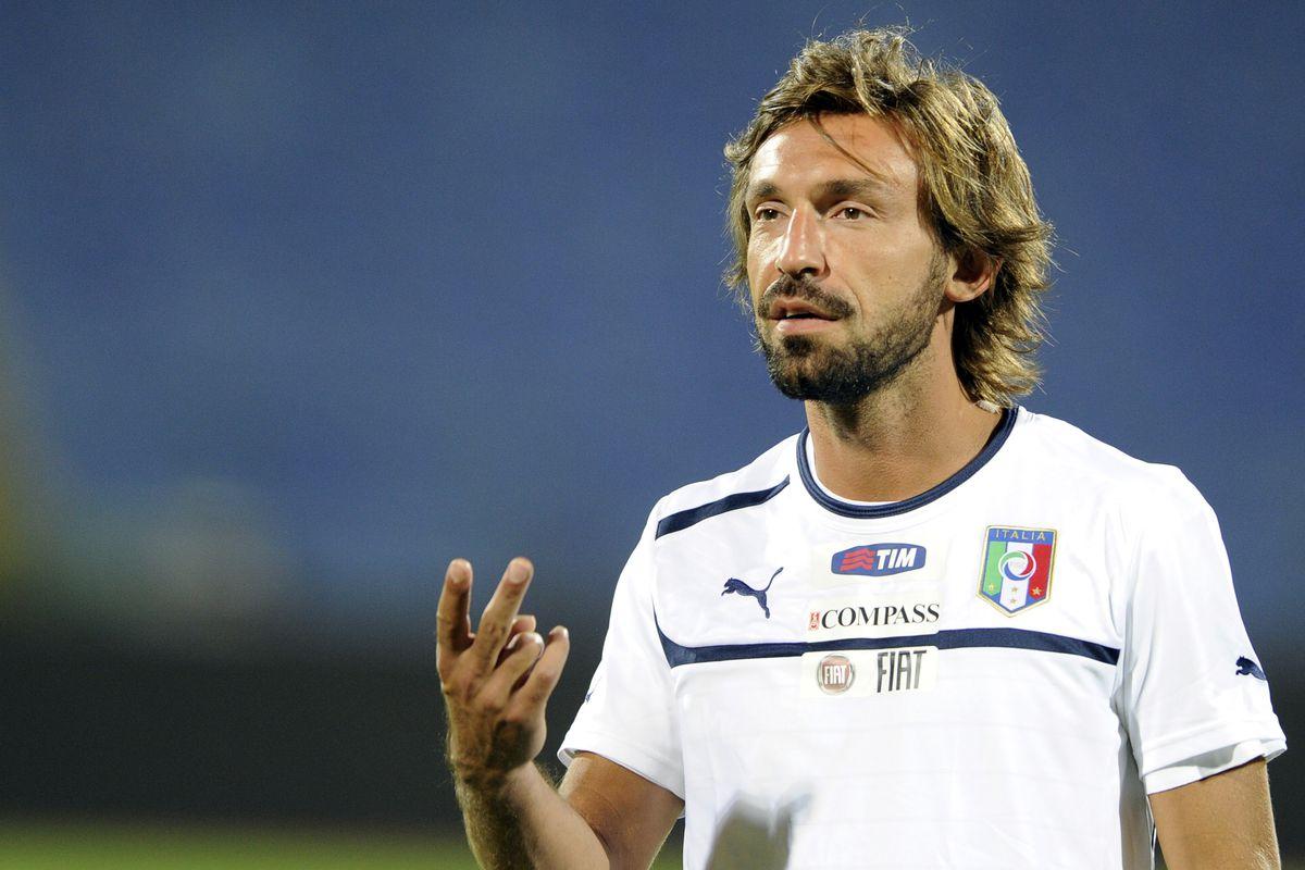 Andrea Pirlo: Mountain man.