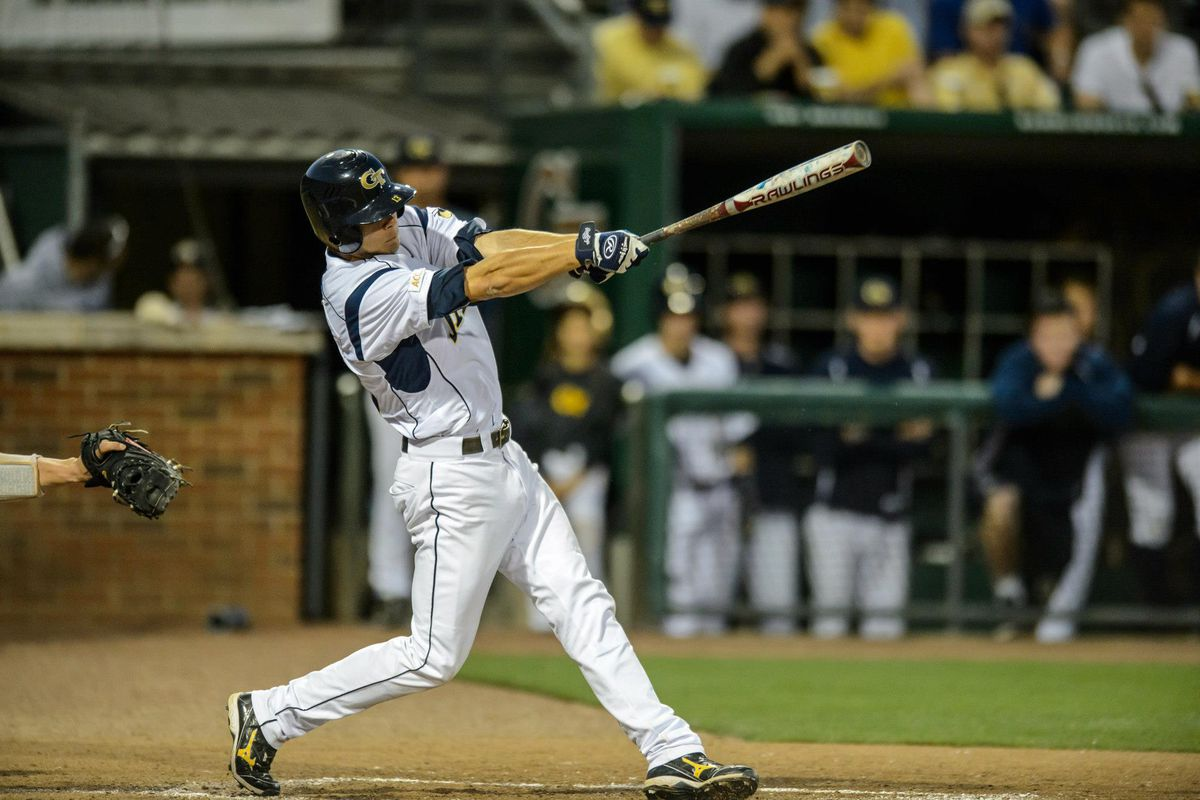 Thomas Smith had a total of five hits and three RBI Saturday and Sunday