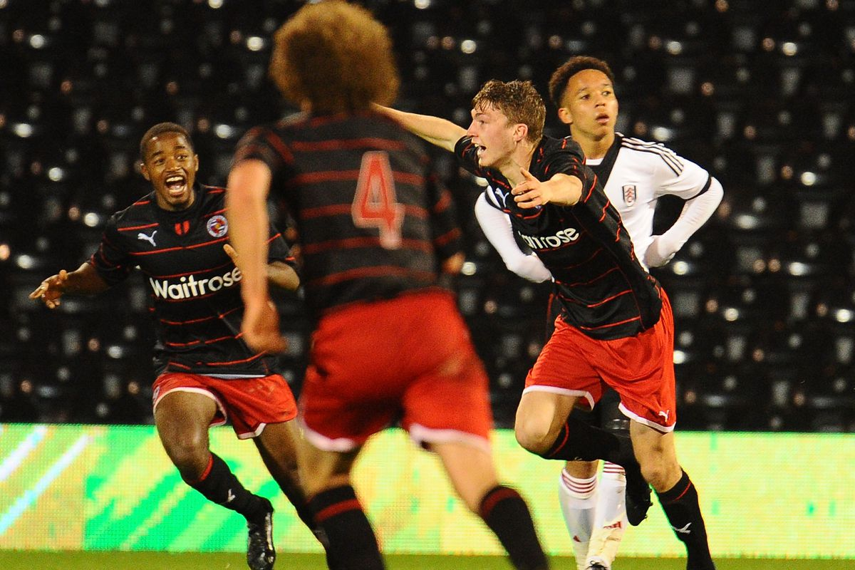 Fulham U18 v Reading U18 - FA Youth Cup Semi Final: Second Leg