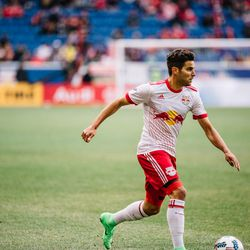 After 61 minutes, Lade was subbed out and Sal Zizzo took over at right back for RBNY