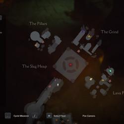 Darksiders Genesis Slag Pit maps