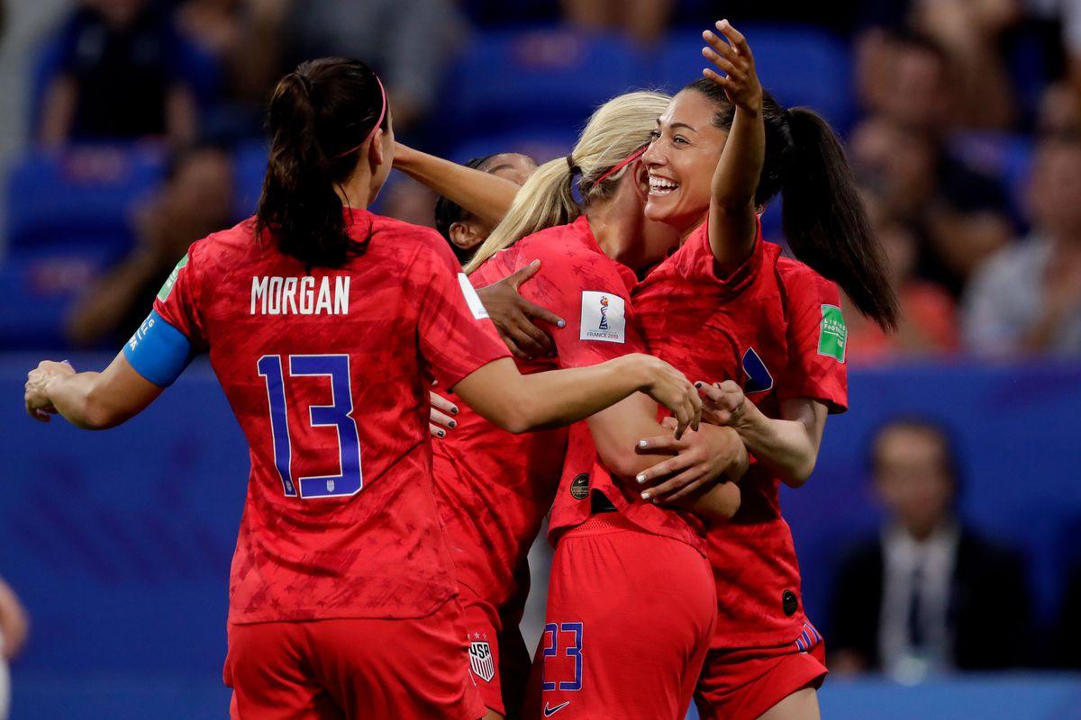 England v USA -World Cup Women
