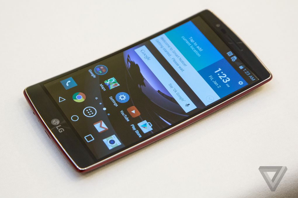 The G Flex 2 is the first great curved smartphone