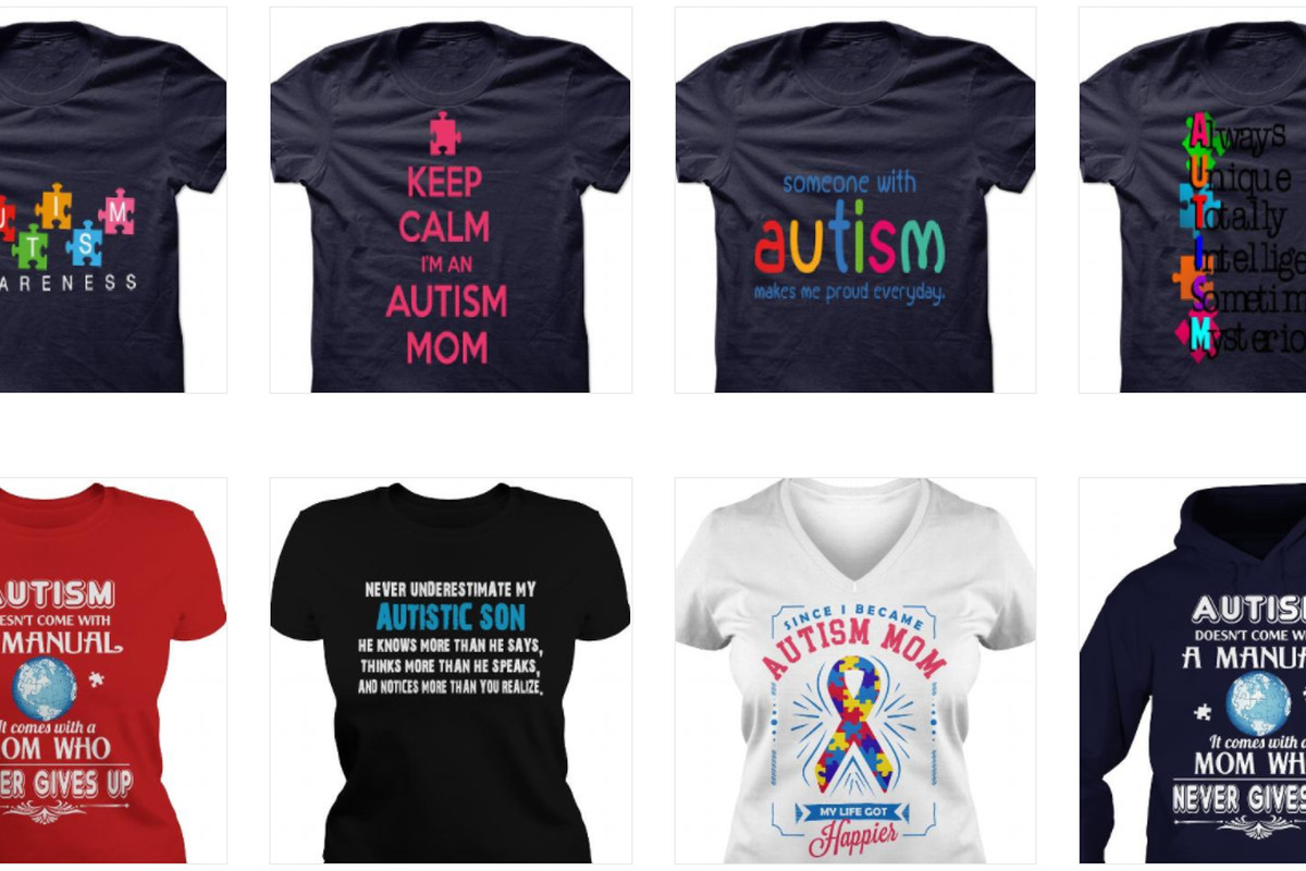 c9ddbf235 Cool It With the 'Autism Awareness' T-Shirts - Racked