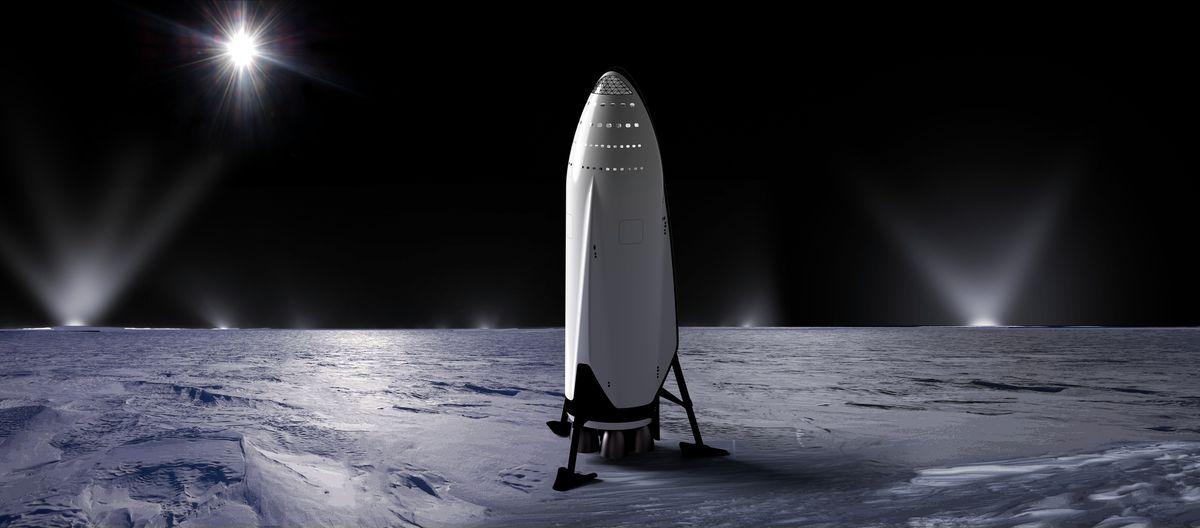 Spacex mars interplanetary transport