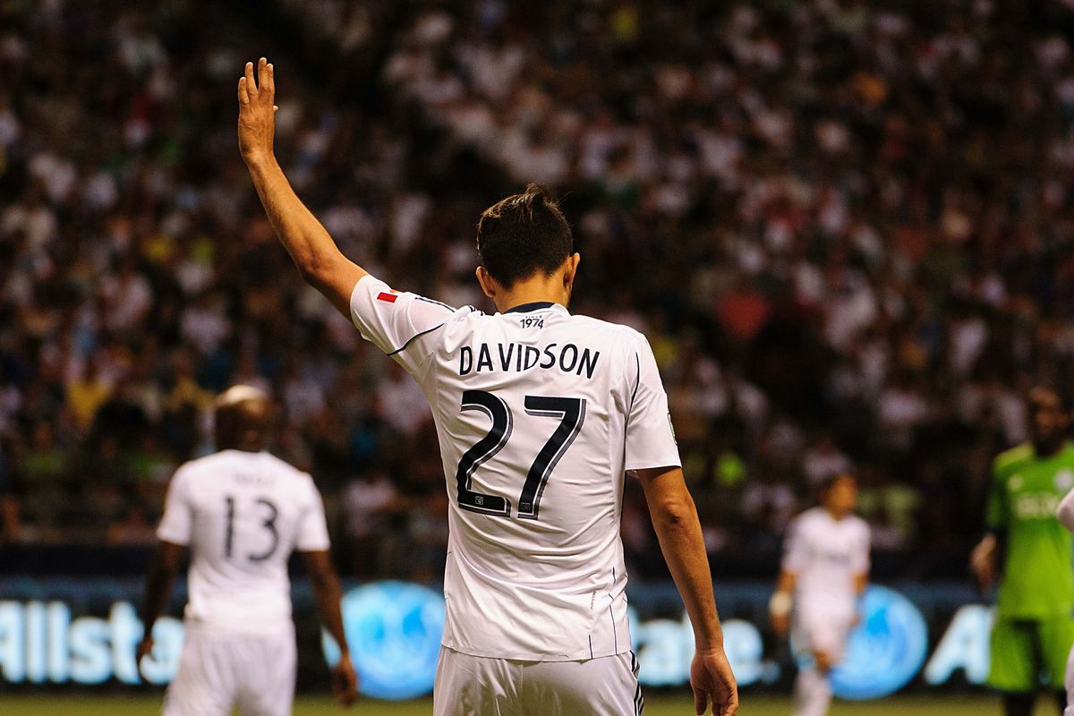 """Whitecaps midfielder Jun Marques Davidson came in ninth on the MLSSoccer.com """"Most Accurate Passers of 2013"""" list"""