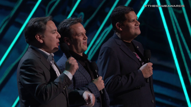 The Game Awards 2018 - Shawn Layden, Phil Spencer, Reggie Fils-Aime