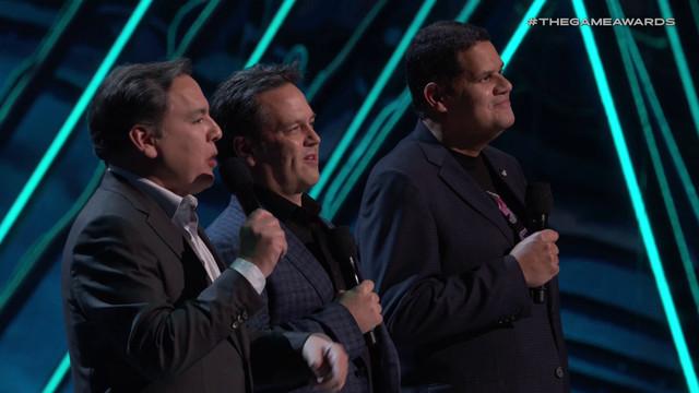 The Game Awards 2018 - Shawn Layden, Phil Spencer, Reggie Fils-Aime