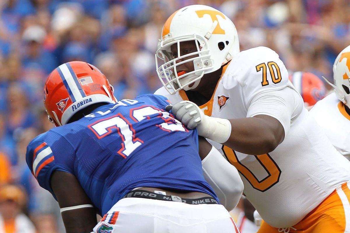 Tennessee tackle Ja'Wuan James