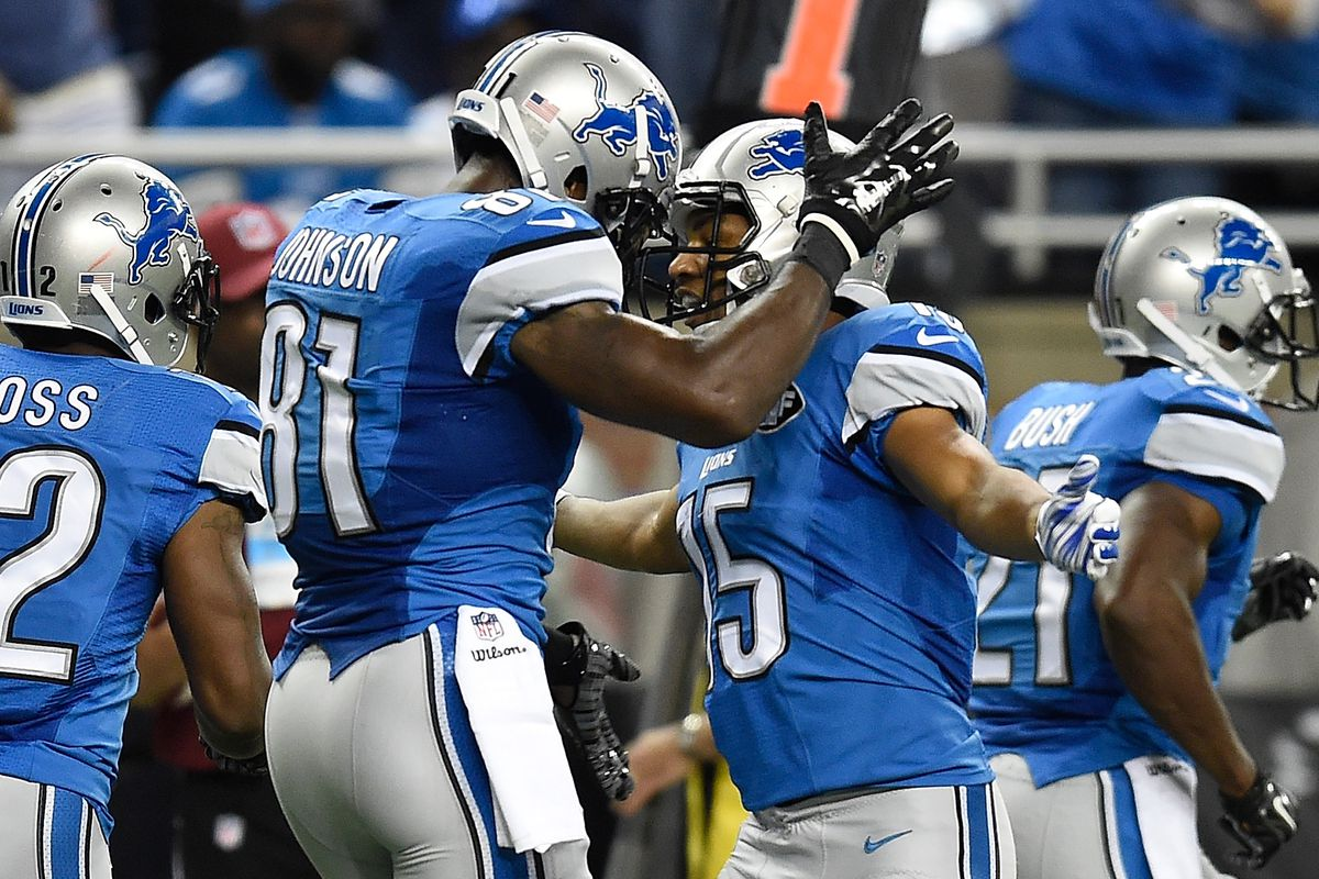 2015 Detroit Lions Roster Review Wide Receiver Pride Of