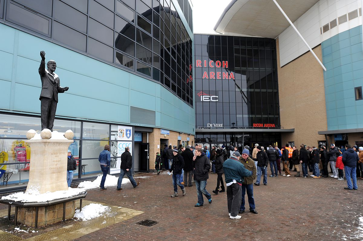 Soccer - npower League One - Coventry City v Oldham - Ricoh Arena
