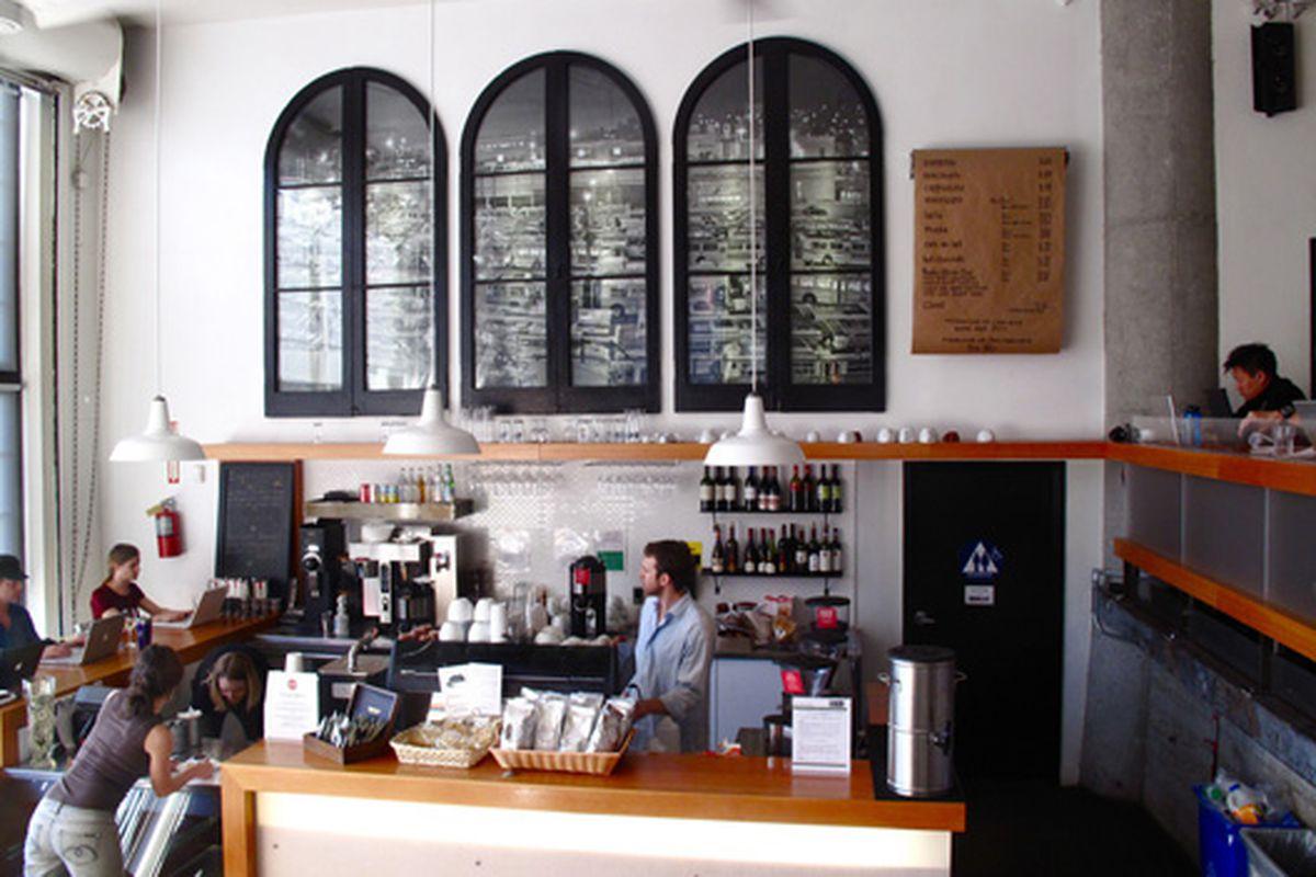 Coffee Bar in full swing