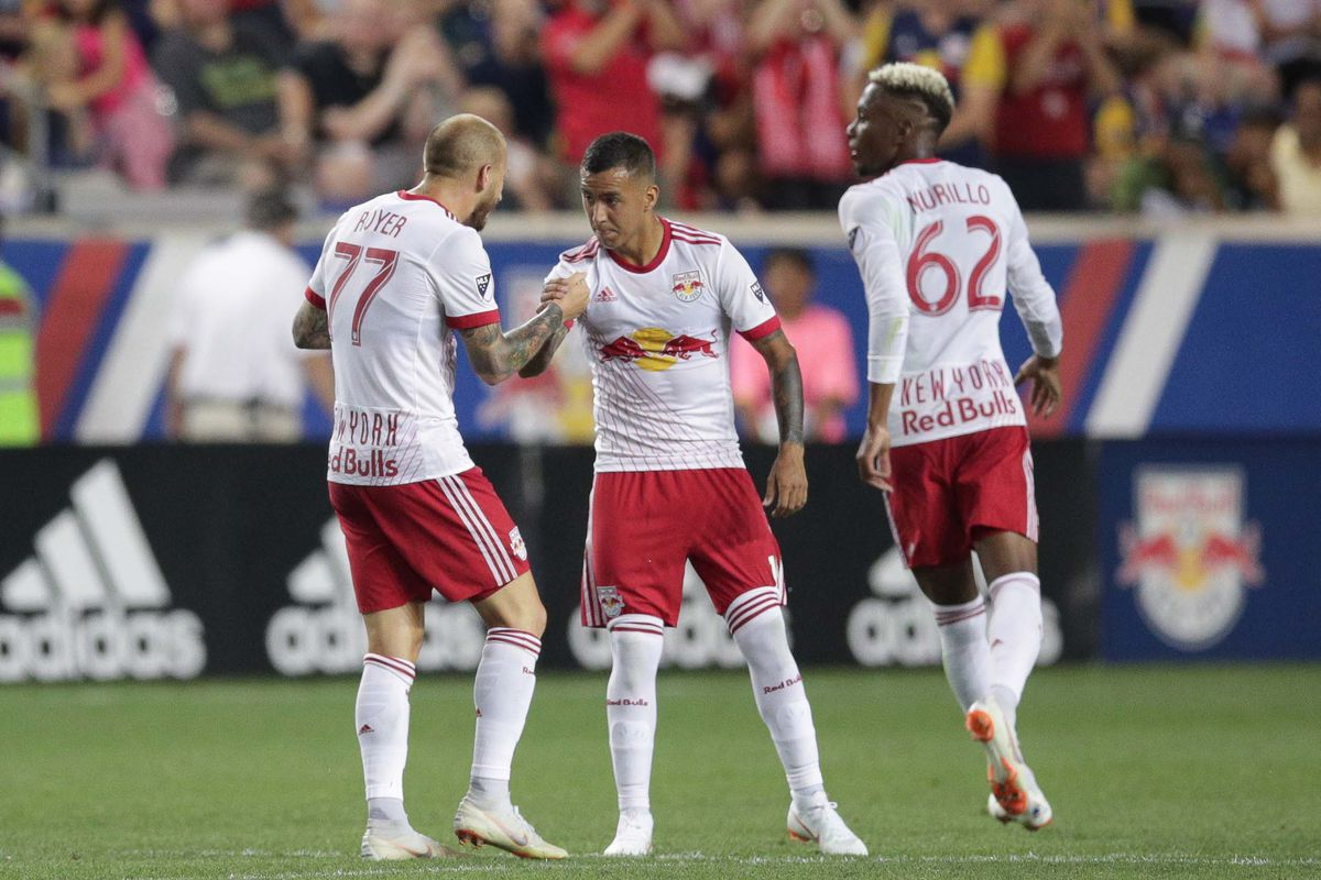 Resilient cardiac bulls gloss over a flawed game plan once a metro alejandro kaku romero gamarra and daniel royer 77 shake hands after the red bulls 69th minute goal in which gamarra played a delicate cross to royer malvernweather Image collections
