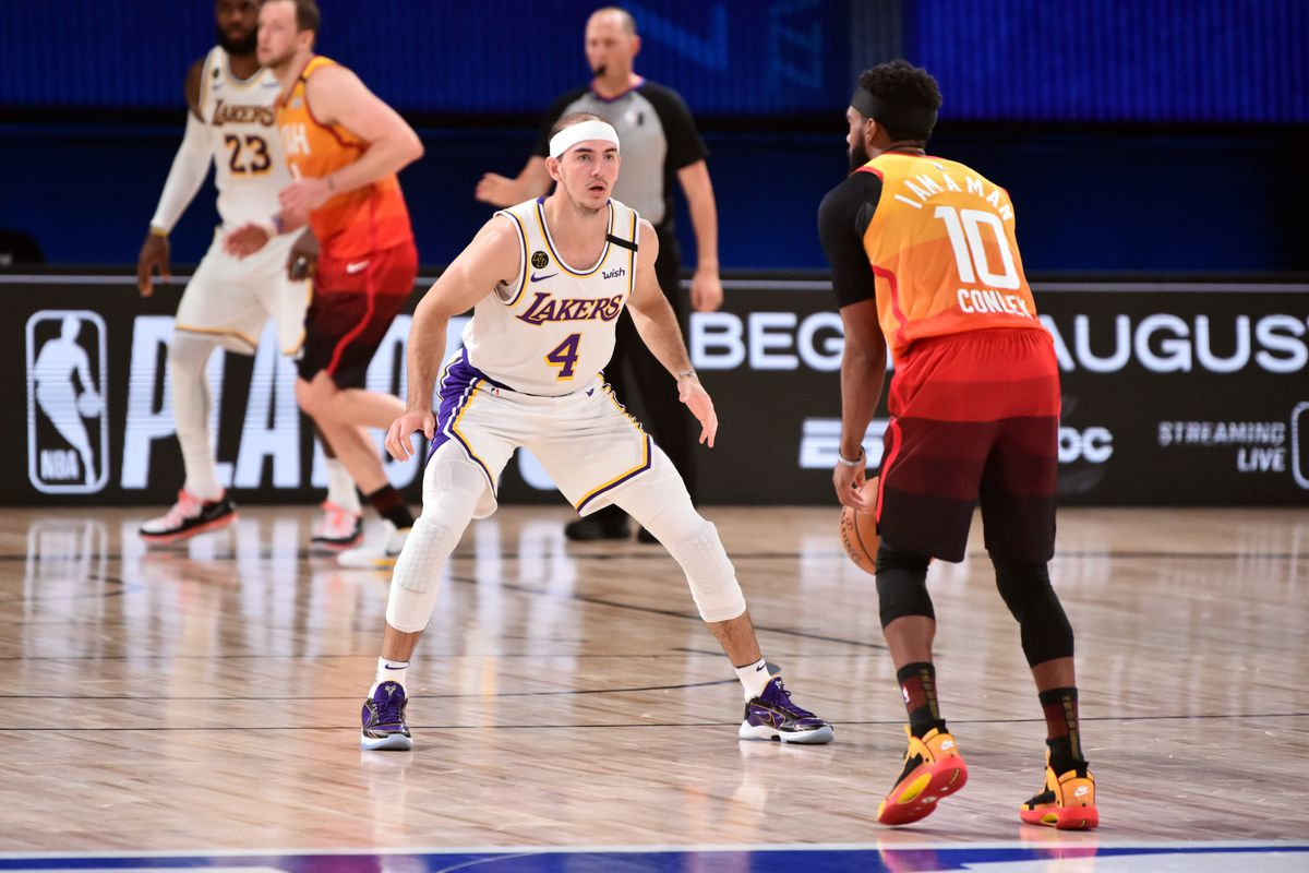 Los Angleles Lakers v Utah Jazz