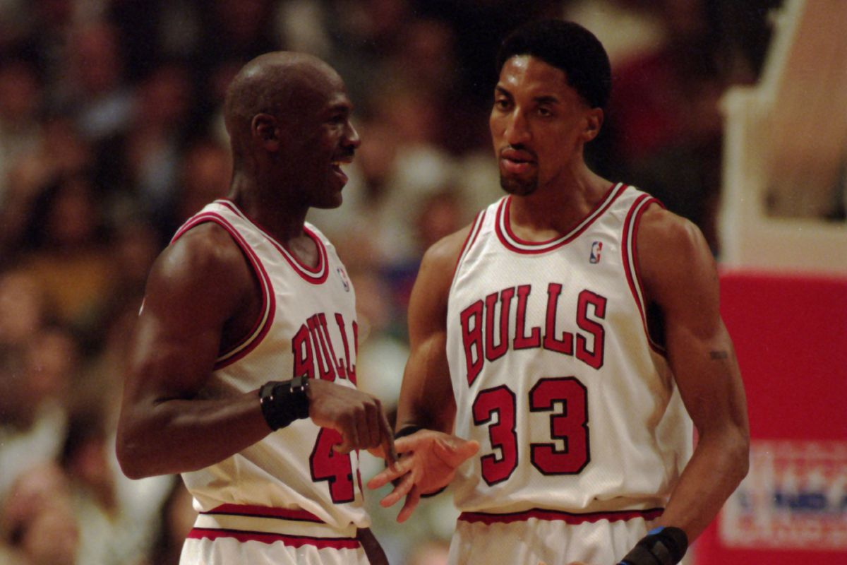 sports shoes 8f893 157d0 Scottie Pippen was the 2nd-best player of the '90s ...