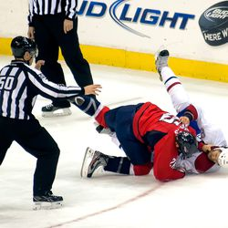 Hendricks and Prust Fall to Ice in Fight